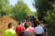 Caminhada do dia Europeu do Desporto Escolar