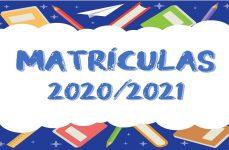 Matrículas 2020/2021